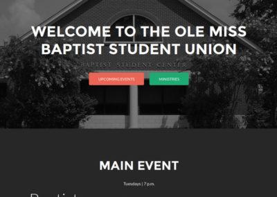 Ole Miss Baptist Student Union