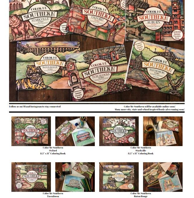 Color Me Southern Coloring Books